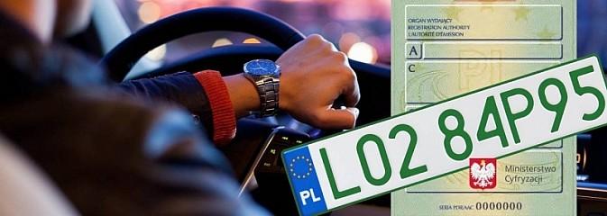 Od dziś można wyrabiać zielone tablice i profesjonalne dowody rejestracyjne  - Serwis informacyjny z Wodzisławia Śląskiego - naszwodzislaw.com
