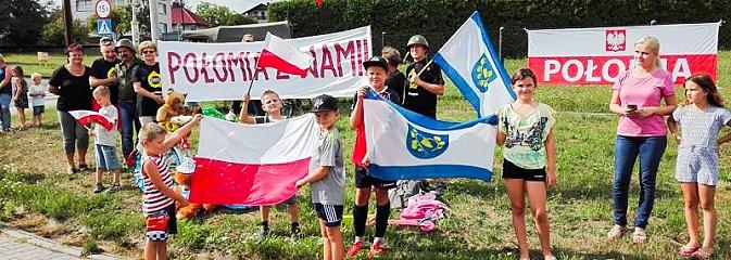 Połomia kibicowała przejazdowi Tour de Pologne przez Gminę Mszana - Serwis informacyjny z Wodzisławia Śląskiego - naszwodzislaw.com