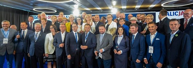 Koalicja Obywatelska ogłosiła listę kandydatów w naszym okręgu  - Serwis informacyjny z Wodzisławia Śląskiego - naszwodzislaw.com