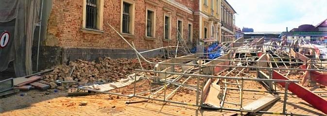 Policja wyjaśnia przyczyny katastrofy budowlanej [FOTO] - Serwis informacyjny z Wodzisławia Śląskiego - naszwodzislaw.com