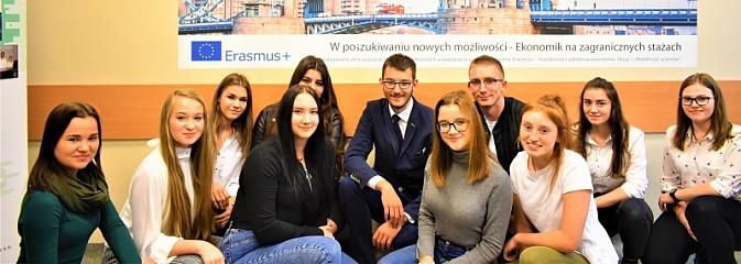 Wodzisławski Ekonomik podsumował kończący się projekt europejski - Serwis informacyjny z Wodzisławia Śląskiego - naszwodzislaw.com