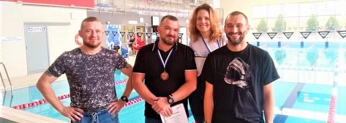 Wodzisławska komenda ma swoich mistrzów w pływaniu - Serwis informacyjny z Wodzisławia Śląskiego - naszwodzislaw.com