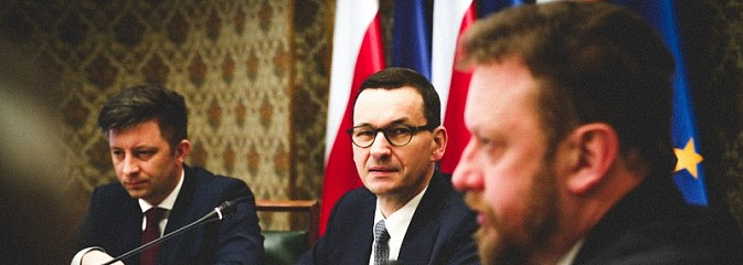 Premier: dzięki decyzjom ministra Szumowskiego jesteśmy w lepszym położeniu niż kraje zachodniej Europy  - Serwis informacyjny z Wodzisławia Śląskiego - naszwodzislaw.com