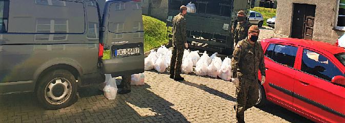 Pszowski OPS dziękuje Terytorialsom - Serwis informacyjny z Wodzisławia Śląskiego - naszwodzislaw.com