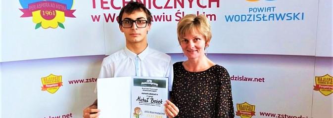 Uczeń Budowlanki arcymistrzem logicznego myślenia - Serwis informacyjny z Wodzisławia Śląskiego - naszwodzislaw.com