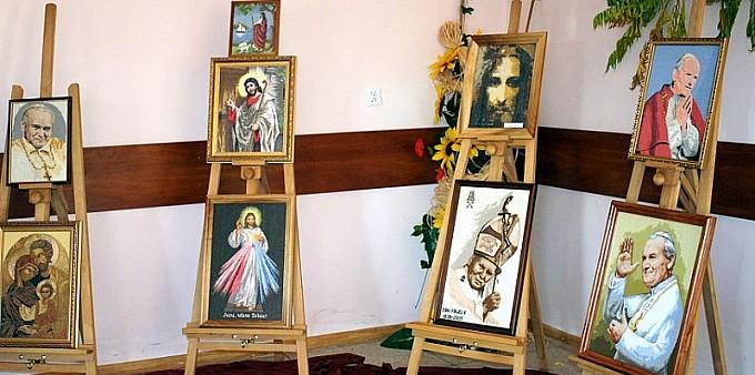 Mieszkanka Głogowa pokazała swoje prace