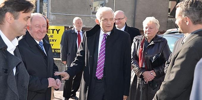 Jerzy Buzek odwiedził Wodzisław Śląski