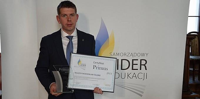 Wodzisław Samorządowym Liderem Edukacji