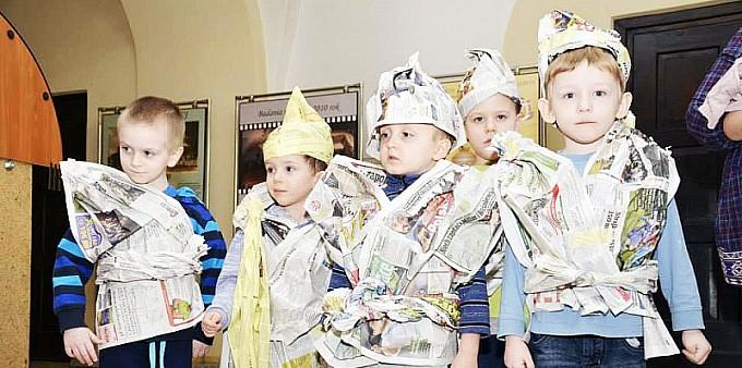 Projektowali ubiór księżniczek i rycerzy
