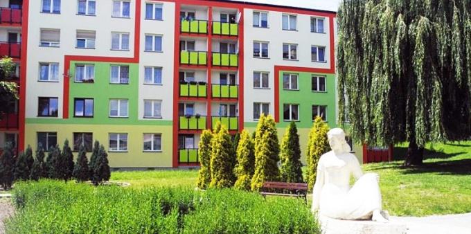 Bloki przy Wojska Polskiego odnowione