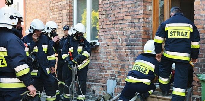 Strażacy ćwiczyli w Marklowicach. WIDEO
