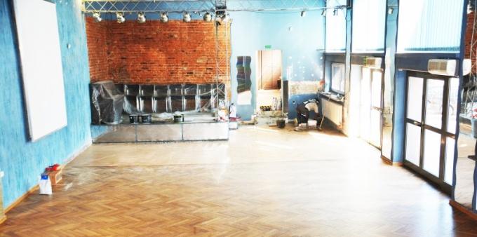 WCK: Trwa remont sali klubowej