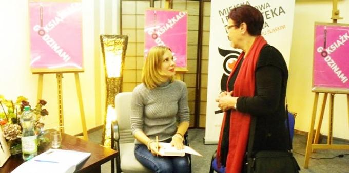 Anna Dziewit-Meller gościła w bibliotece
