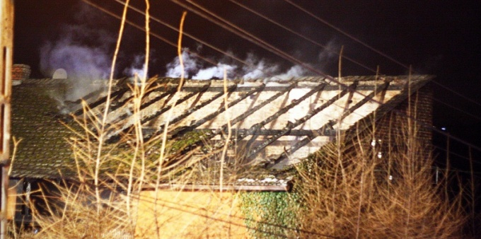 Prace spawalnicze przyczyną pożaru. FOTO