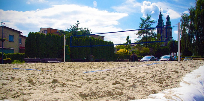 W centrum Radlina powstała plaża