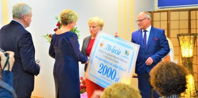 Wodzisławska książnica świętowała 70 lat