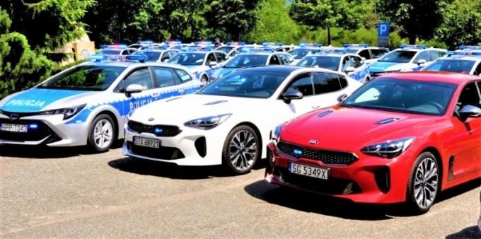 Śląska Policja ma nowe samochody
