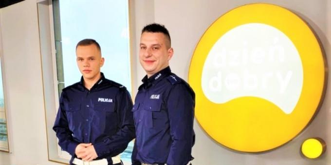 Wodzisławscy policjanci w DDTVN